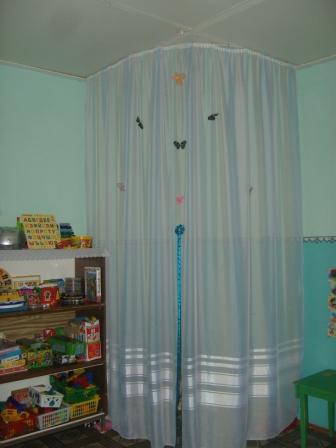 Как сделать уголок уединения в детском саду